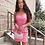 Thumbnail: Pink Plastic Mini Dress