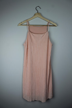 Blush Slinky Ribbed Dress