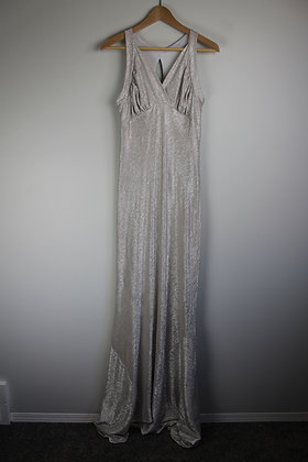Silver Stretchy Gown