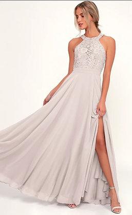 Lulus Purple/Grey Gown