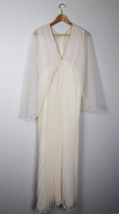 1970's Pleated Party Dress