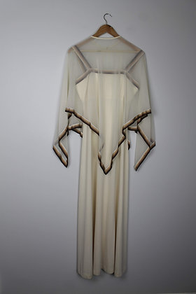 1970's Gown with Cape