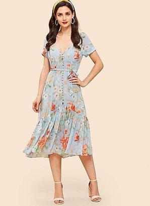Flirty Floral Dress