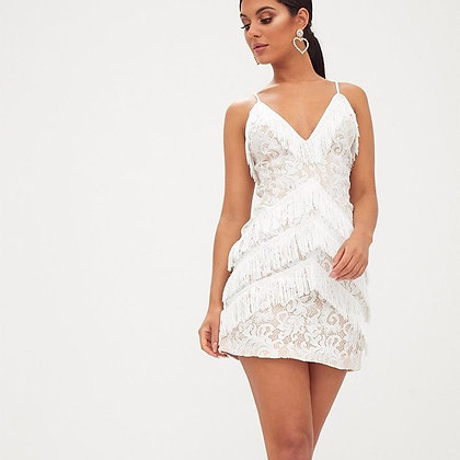 Lace and Fringe Mini