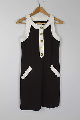 1960's Style Shift Dress with Buttons