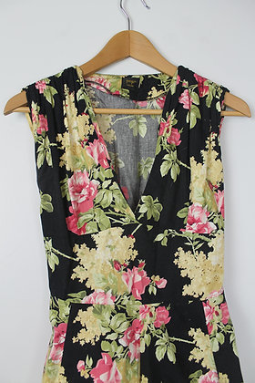 1950s Style Floral Dress