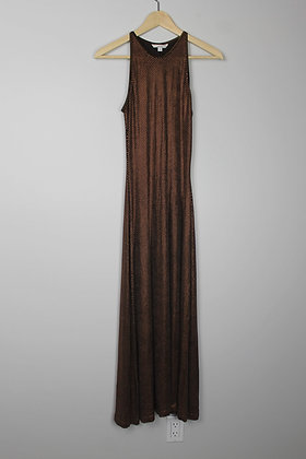 Slinky Copper Gown