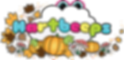 hartbeeps autumn pumpkin logo clear back