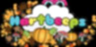 hartbeeps autumn pumpkin logo clear back