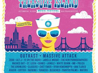 Treasure Island 2014 Day One
