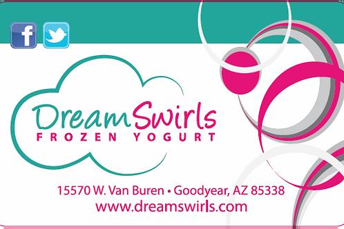 Dream Swirls $10 Gift Card