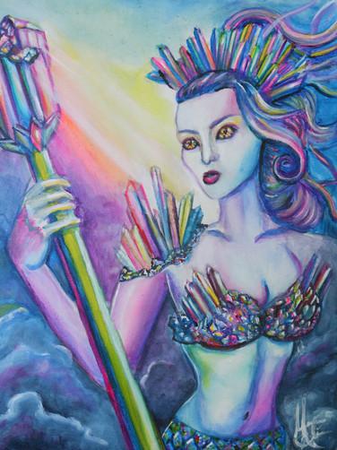 Rainbow Crystal Mage