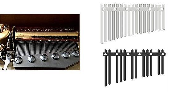Orgel Music Box | Comb Teeth | BugsGear