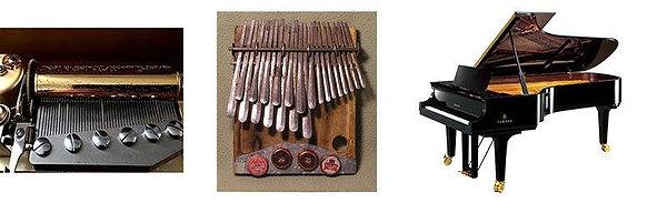 Orgel Music Box | African Folk Instrument | Grand Piano