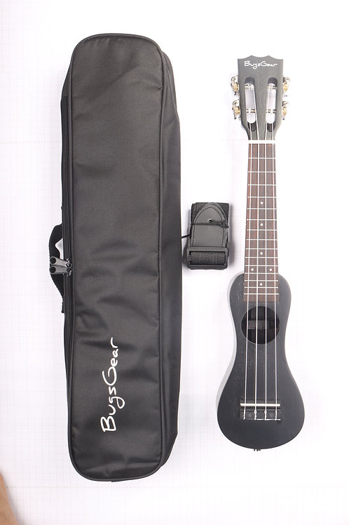 Acoustic peanut soprano ukulele APE-SBK free international shipping