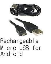 BugsGear Rechargeable Micro USB for Android