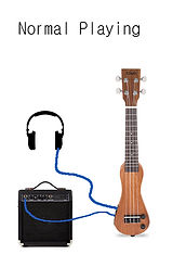 Eleuke Ukulele & Amplifier