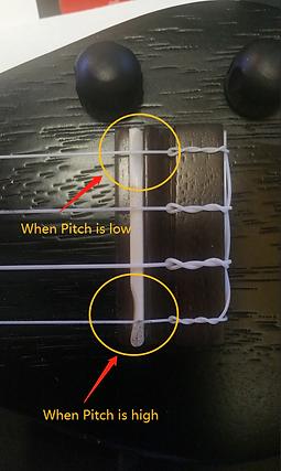 Guitar Pitch Compensation | BugsGear Guitar Bridge