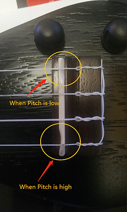 Tuning An Eleuke For Pitch | Saddle Compensation
