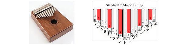 Diatonic Scale & Tuning | BugsGear Kalimba
