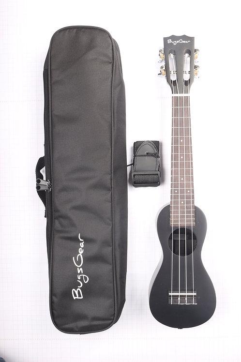 Acoustic peanut Concert ukulele APE-CBK free international shipping