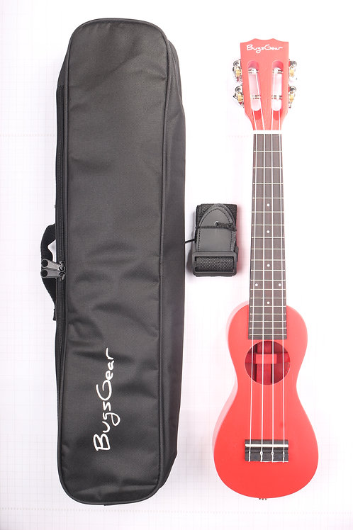 Acoustic peanut Concert ukulele APE-CRD free international shipping