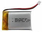 Eleuke Ukulele Battery | 3.7v 250mA Lithium Polymer Battery