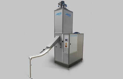 Maszyna do produkcji plastrów oraz granulatu suchego lodu  ASCO BP 420