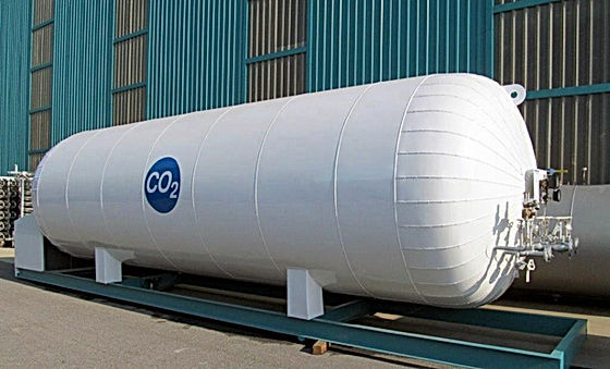 zbiorniki na ciekły dwutlenek węgla