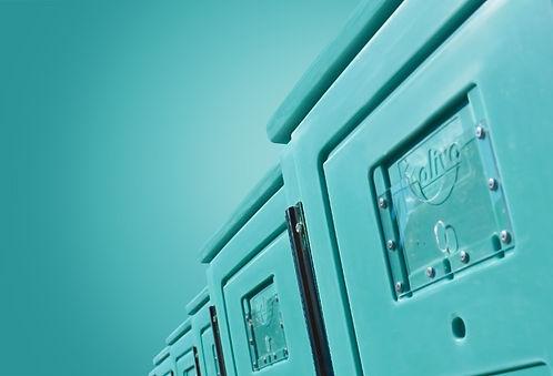 izotermiczne kontenery do transportu i przechowywania suchego lodu