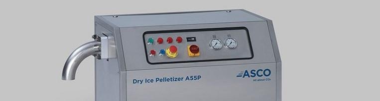 Dane techniczne maszyny do produkcji suchego lodu