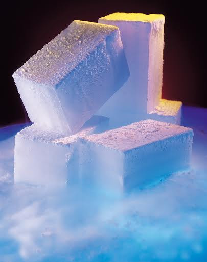 sublimacja suchego lodu