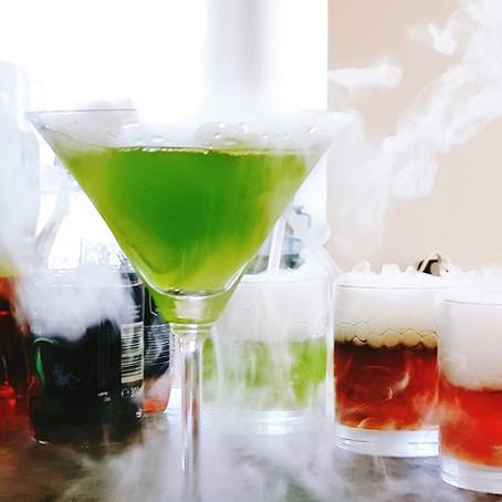 Suchy lód do napojów bezalkoholowych