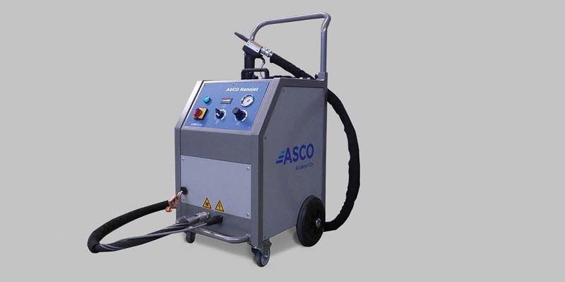 Maszyna do czyszczenia suchym lodem ASCO Nanojet