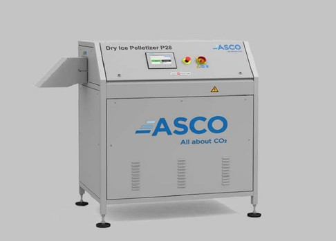 Maszyna do produkcji suchego lodu Dry Ice Pelletizer P 28