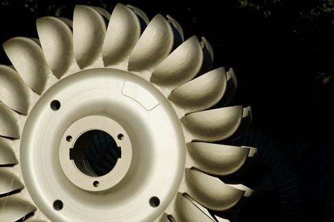 Przemysł energetyczny - czyszczenie turbin energetycznych!