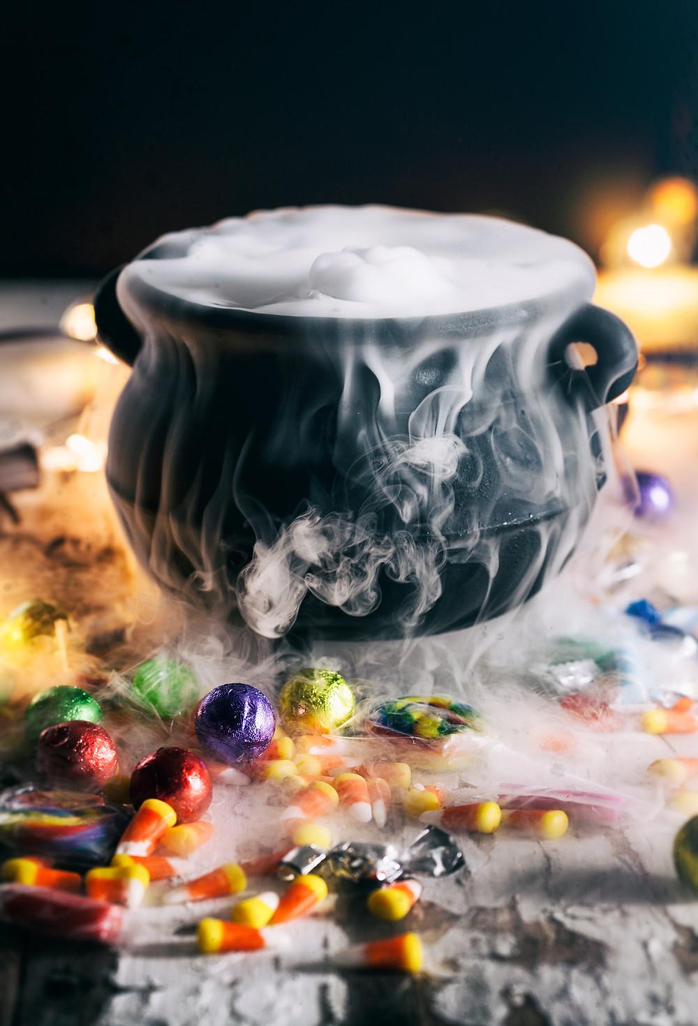 efekty specjalne na Halloween