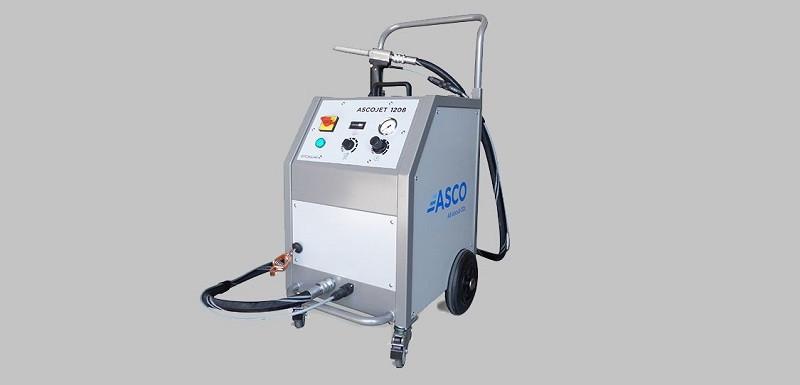 Maszyna do czyszczenia suchym lodem ASCOJET 1208