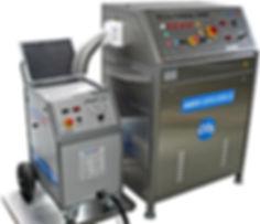 maszyny do czyszczenia i produkcji suchego lodu