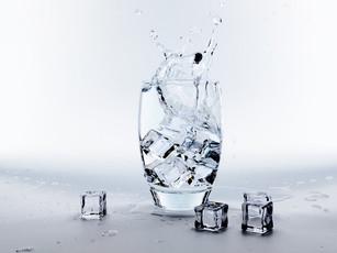 Lód w kostkach