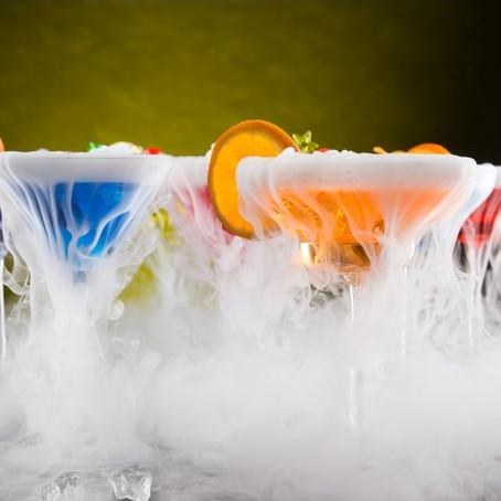 Zastosowanie suchego lodu na imprezie