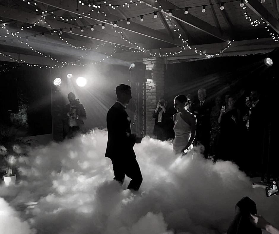 suchy lód na wesele w Łodzi