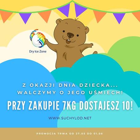 Promocja na Dzień Dziecka w Łodzi