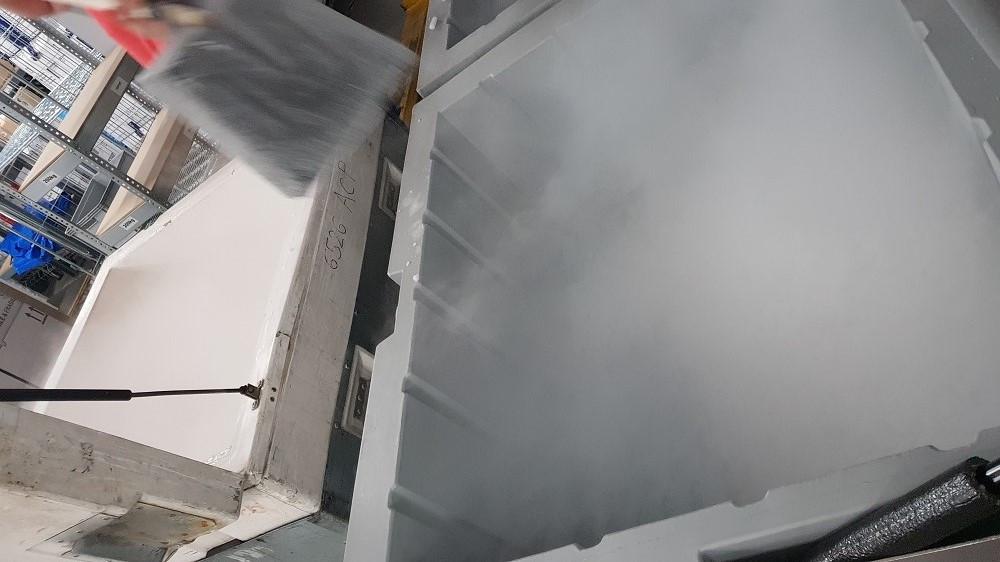 dwutlenek węgla z suchego lodu