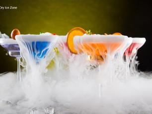 Czy można pić drinki z suchym lodem