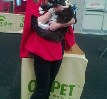 Winner of the Companions Section in the National Cat Show