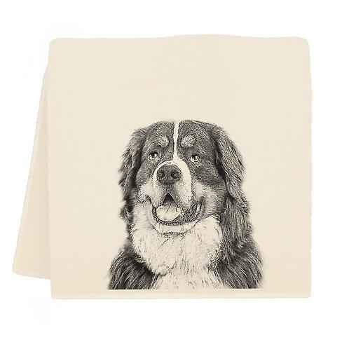 Bernese Mountain Dog Tea Towel
