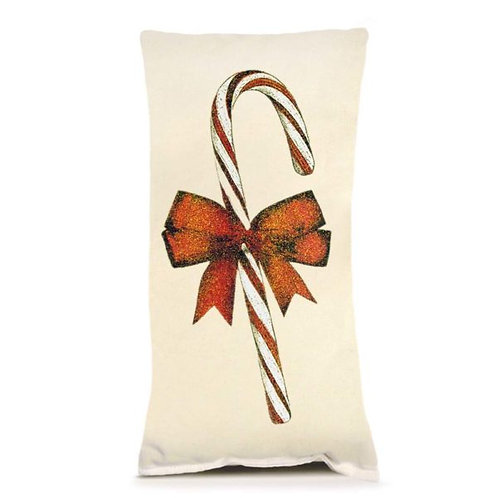 CANDY CANE SMALL PILLOW