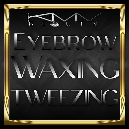 Eyebrow Tinting, Waxing, Tweezing