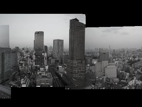 「ソラスタ渋谷」から方位300度で写真をとったら
